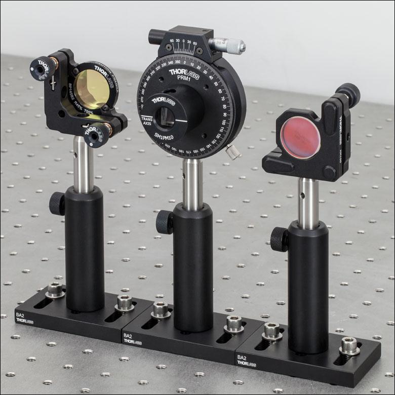 optical post and base