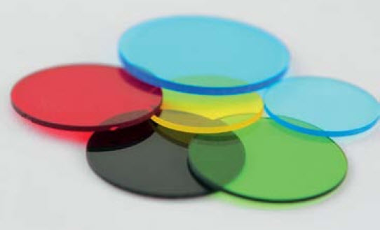 14CGF-GG10-1 - Yellow Glass Filters