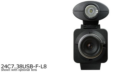 24C7.38USB-F-L8 USB Megapixel Color Box Camera