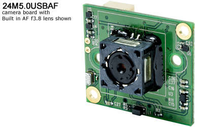 24M5.0USBAF 5MP Micro USB 2.0 Color Board Camera