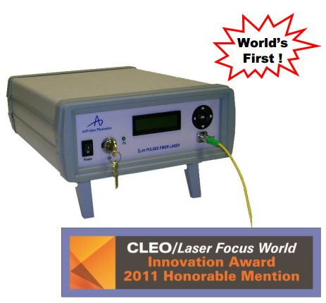2 Micron High Power Q-Switched Fiber Laser: AP-QS-20ns