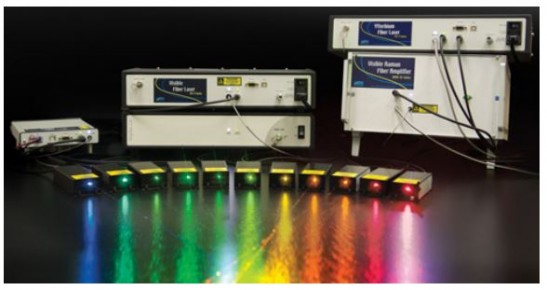 546nm 1W Continuous Wave Visible Fiber Laser