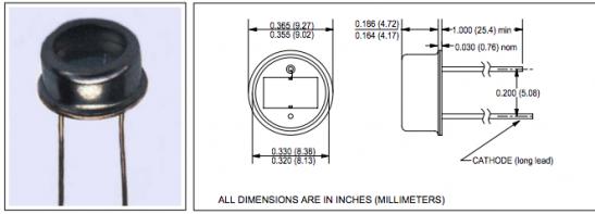 CLD156 Silicon Photodiodes
