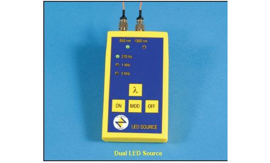 DUAL WAVELENGTH LED SOURCE - 850/SC-1300/SC