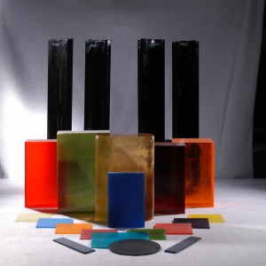 Filter Glass Sheets And Blocks