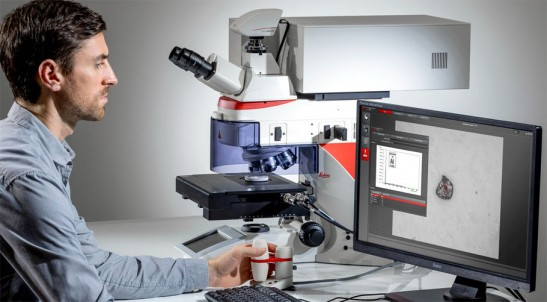 Microstructure Composition Analysis Solution DM6 M LIBS