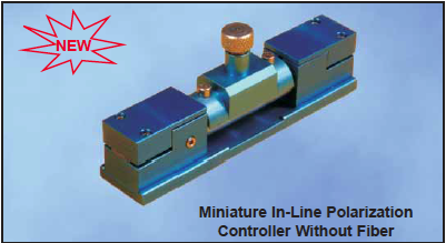Miniature In-Line Polarization Controller Without Fiber FPC-200