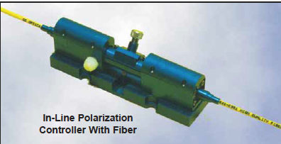 Pigtailed Polarization Controllers With Fiber PFPC-11-400-S-3/125-XX-1-1