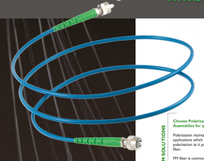 Polarization Maintaining Cables 460nm