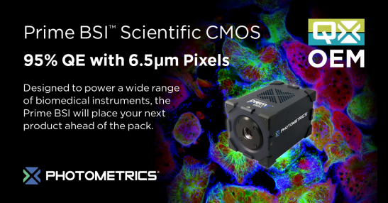 Prime BSI Scientific CMOS Camera