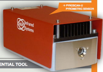 Pyroscan-U - External Pyrometric Camera for Combustion Thermal Monitoring