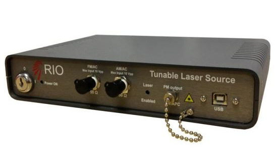 RIO COLORADO Widely Tunable 1550nm Narrow Linewidth Laser Source (L-Band)
