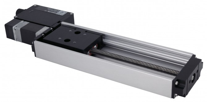 Zaber Technologies Motorized Linear Stage With Built In