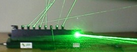 10 Port Multi-Effect Green Laser Projector