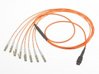 1062835202 Quad Small Form-factor Pluggable Plus  Optical Breakout Cable Assembly