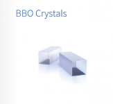 BBO 10mm Nonlinear Crystal For Yb:KGW/KYW Lasers