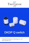 DKDP Q-Switch Pockels Cells