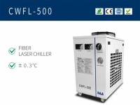 Dual Temperature Water Chiller For 500W Fiber Laser CWFL-500AN