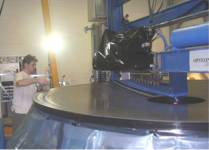 Ground Based 3.4m Diameter And f1.5 Telescope M1 Mirror Polishing