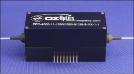 HIGH SPEED POLARIZATION CONTROLLER-SCRAMBLER EPC-3000-11-1300/1550-9/125-S-3U3U-1-1