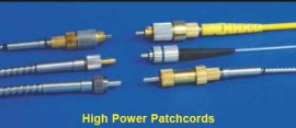 High Power High Temperature Fiber Optic Patchcords
