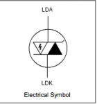 L44-47-122-228-X ESD Absorber For Laser Diodes