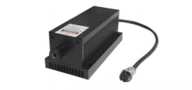 LD PUMPED ALL-SOLID-STATE LOW NOISE GREEN LASER