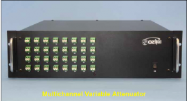 MULTICHANNEL ELECTRICALLY CONTROLLED VARIABLE ATTENUATOR SM/PM