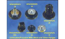 RECEPTACLE STYLE COLLIMATORS AND FOCUSERS