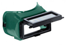 RADNOR Lift Front Welding Goggles With Green Soft Frame And Green Shade 5 2