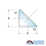 Rainbow Research Optics Right Angle Bending Prisms