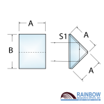 Rainbow Research Optics Right Angle Folding Prisms