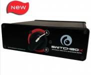 SwitchBox FC 9-125 Duplex Singlemode Fiber Optic A-B Desktop Switch SBXD-S2