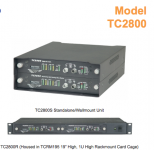 TC2800 Multi-Drop Fiber Optic Data Multiplexer With Self-Healing Ring