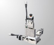 Ultra-thin XYZ-Axis Motorized Linear Stage - PMZG413 (Integrated Linear Ball Guide)