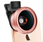 Universal 0.45X Wide Angle Lens With 15X Macro Lens For Smartphones