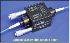 Variable Bandwidth Tunable Filter BTF-11-11-1550/1600-9/125-S-50-3U3U-1-1-1/18