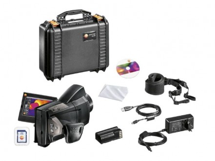 testo 885 - Thermal Imager and Super-Telephoto Lens